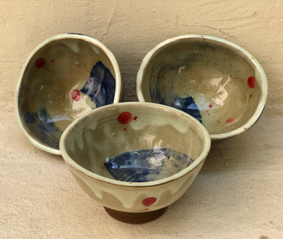 Jap Bowl - set of 3