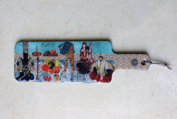 Last Supper - Persian Design Serving Boards