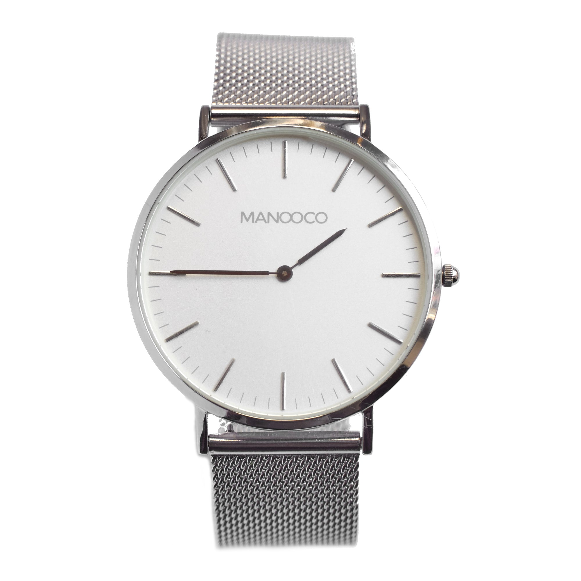 Zephyr Silver / Silver Mesh - Watch - MANOOCO - Watch - manooco