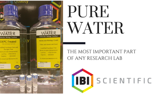 pure water for science labs