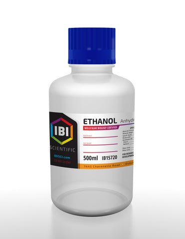 Ethanol (Anhydrous Alcohol) - 500 ml