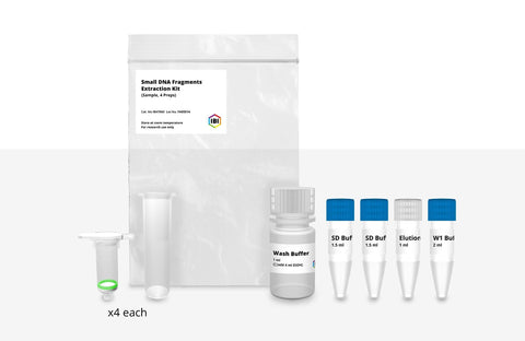 Small DNA Fragment Extraction Sample Kit - 4 Preps