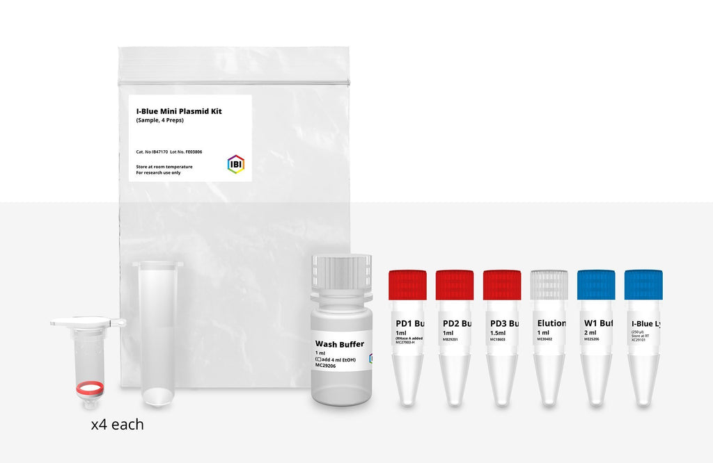 I-Blue Mini Plasmid Kit