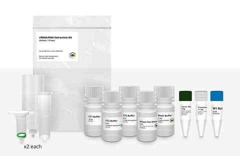 Cell-FREE DNA/RNA Extraction - 2-prep sample kit