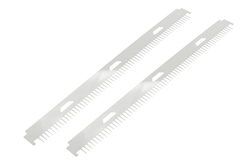 STS-45i Shark Tooth Comb, 0.4mm x 64 tooth – 2/PK