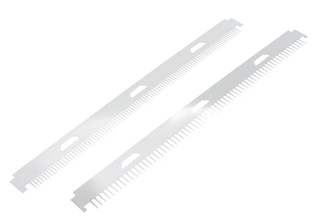 STS-45i Shark Tooth Comb, 0.2mm x 64 tooth and 0.2mm x 96 tooth – 2/PK