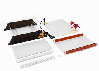 JSB-96 Ultra-Wide Mini Gel-O Horizontal Electrophoresis System