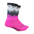 Amongst the Waves Socks - Pink
