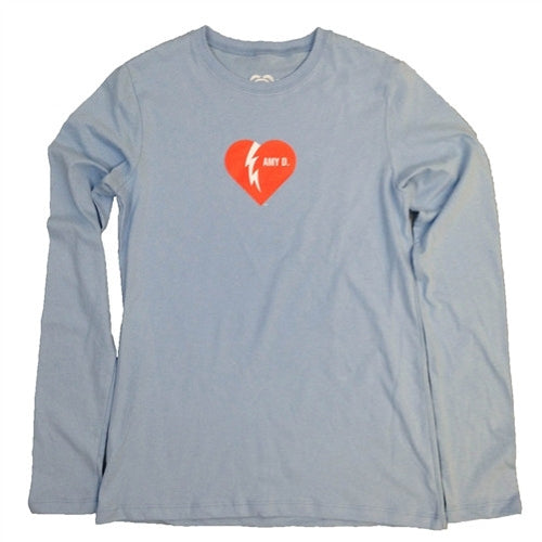 Amy Dombroski - Blue - Long Sleeve - Women's