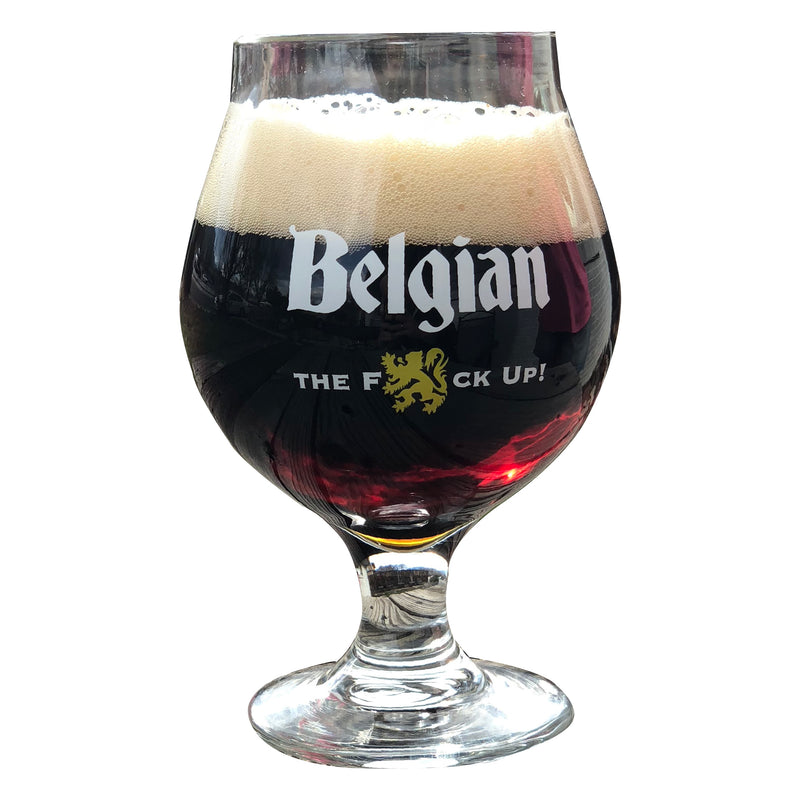 BelgianTFU Beer Glass