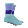 Biggie Smalls Socks - Ice Blue/Purple