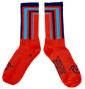 Crossbar Socks - Orange