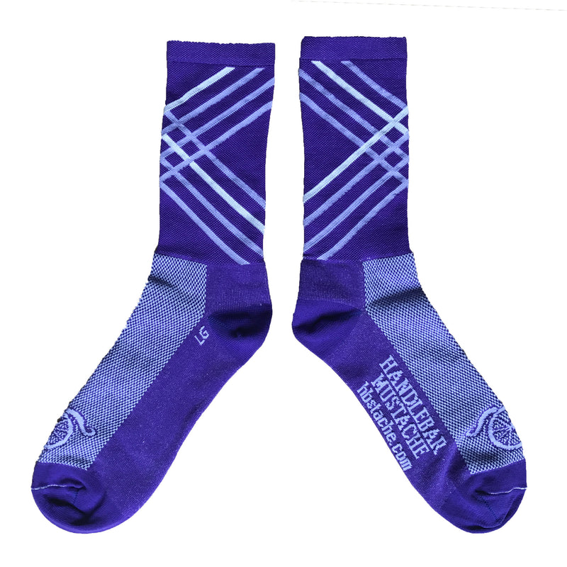 Crossroads Socks - Purple