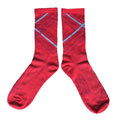 Crossroads Socks - Red