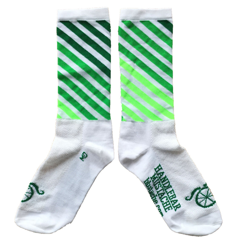 Decade Pro Socks - White/Green