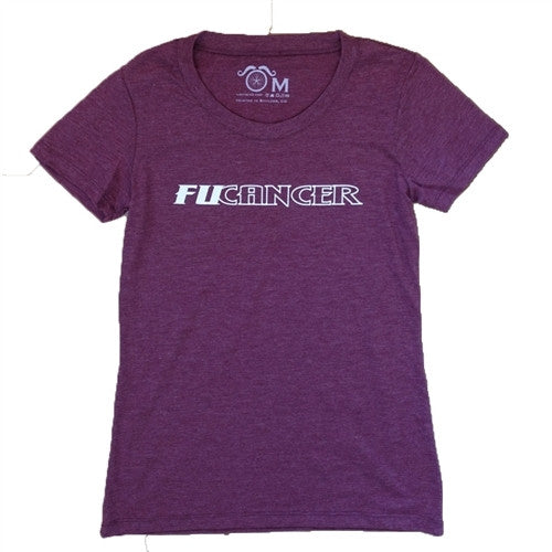 FUCancer - Maroon - Women's