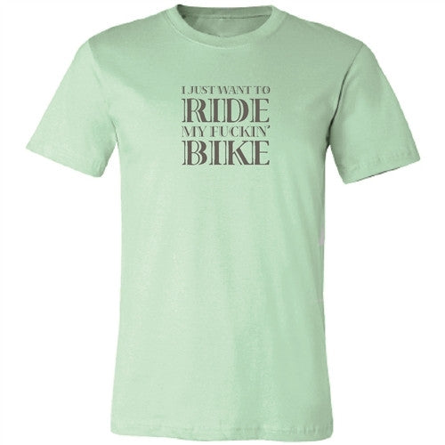 Ride my Fuckin' Bike - Mint - Men's