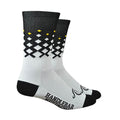 Rise Socks - White/Black