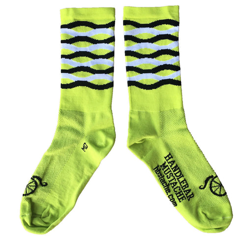 Frequency Socks - Jalapēno