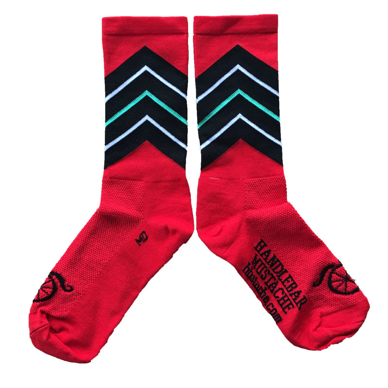 Killer Veez Socks - Red