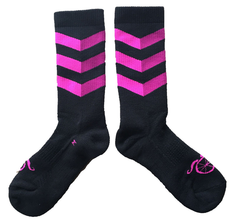 Winter in the City Socks - Pink