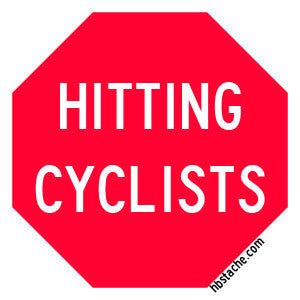 Sticker - STOP Hitting Cyclists