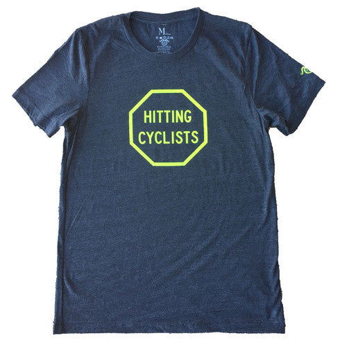 STOP Hitting Cyclists - Grey - Men's