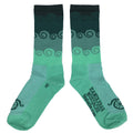 Amongst the Waves Socks - Greens