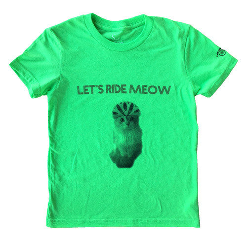 Ride Meow - Neon Green - Kids