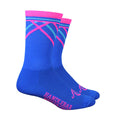 Prisms Socks - Blue and Pink