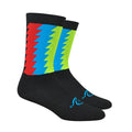 Timber Winter Socks - Black/Blue/HighVis/Red