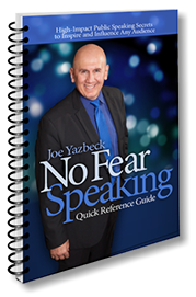 No Fear Speaking Quick Reference Guide - English E-Book