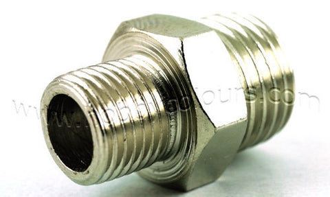 Air Coupling Adapter 1/8 (M) to 1/4 (M)