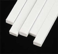 1X3 Mm Flat Rectangular Bar Styrene (2 Pc) Tools