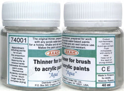 Acrylic Thinner for brushing - 40ml - HOBBYColours