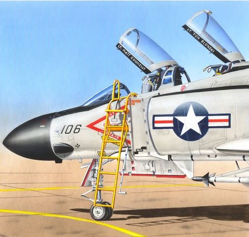 Ladder McDonnell F-4 Phantom