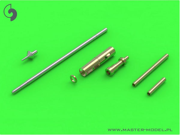MiG-15 & MiG-15bis - 37mm and 23mm gun barrels set, antenna base & Pitot Tube