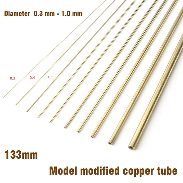 Copper Tube 0.3-0.4-0.5-0.6mm