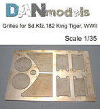 Grilles for King Tiger at WWII