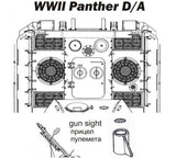 Grilles for Panther D/A in WWII