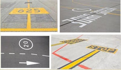 Painting Masks for Markings of airport fields
