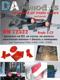Su-27 Exhaust & Air Intake Covers with Decals