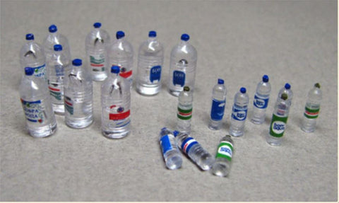 Water Bottles - 20 pcs