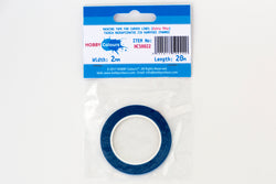 Masking Tape 2mm x 20m - Curved Lines (blue)
