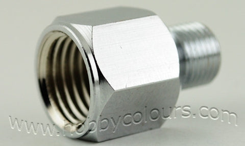 Air Coupling Adapter 1/4 (F) to 1/8 (M)