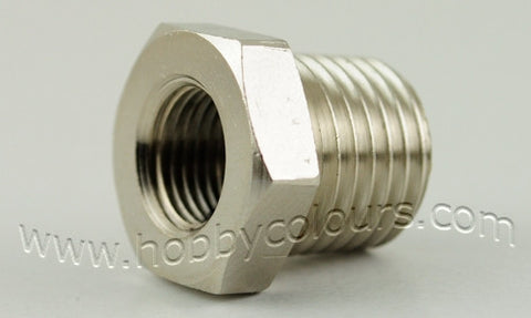 Air Coupling Adapter 1/4 (M) to 1/8 (F)