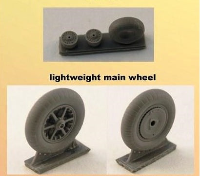 Wheels set for Bf.109 B,C,E