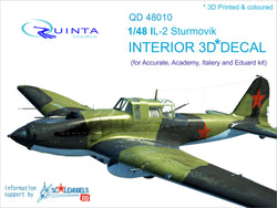 IL-2 - 3D-Printed & coloured Interior (for Accurate/Italery/Academy/Eduard kits)