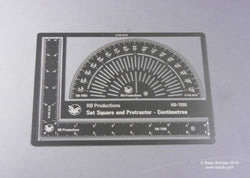 Set Square and Protractor scriber