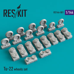 Tu-22 wheels set